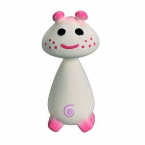 Sophie the Giraffe - Pie (Pink) Squeaky Rubber Teether