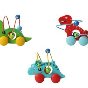 ToysLink - Wooden Dinosaur Wise Beads