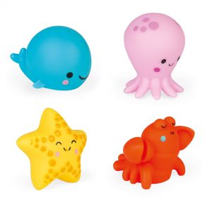 Janod – Four Sea Squirters Set